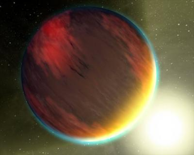 Spitzer Telescope First To Crack Open Light of Faraway Worlds