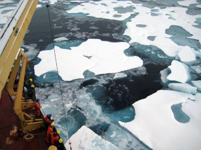 New study by WHOI scientists provides baseline measurements of carbon in Arctic Ocean