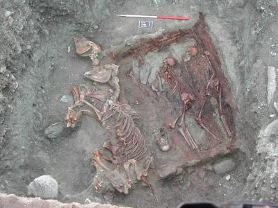 Mongolia and the Scythians: Origins of genetic blending between Europeans and Asians