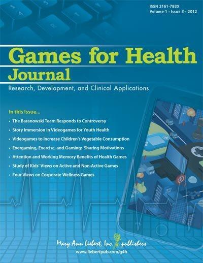 Games improve employee health and well-being, may reduce health insurance premiums for employers