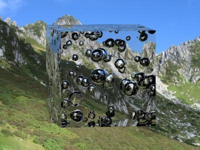 Ostwald ripening: Champagne bubble physics may help address future energy needs