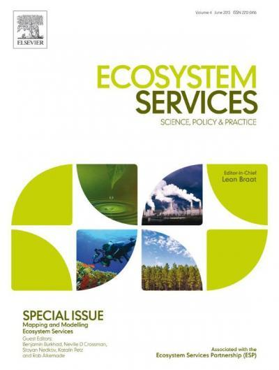 Ecosystem service mapping and modelling -- new special issue shows big steps forward