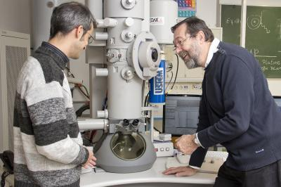 Electron microscopes with a twist