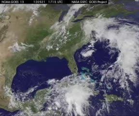 New satellite movie chases post-Tropical Storm Alberto in Atlantic