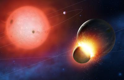 4 white dwarf stars caught in the act of consuming 'Earth-like' exoplanets