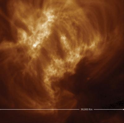 Spotting ultrafine loops in the sun's corona