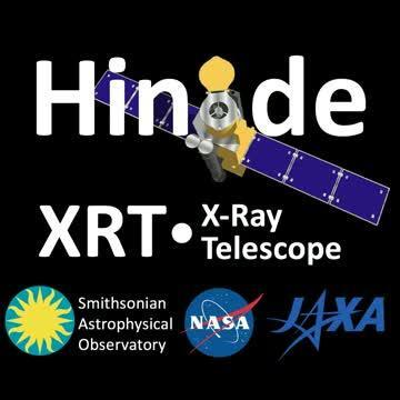 Hinode satellite captures X-ray footage of solar eclipse