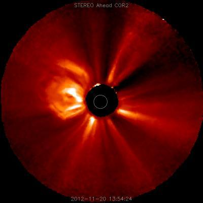 NASA spacecraft observe Nov. 20 solar eruption