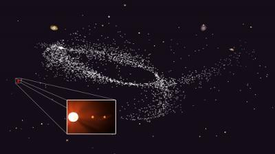 Two planets orbit nearby ancient Kapteyn's Star