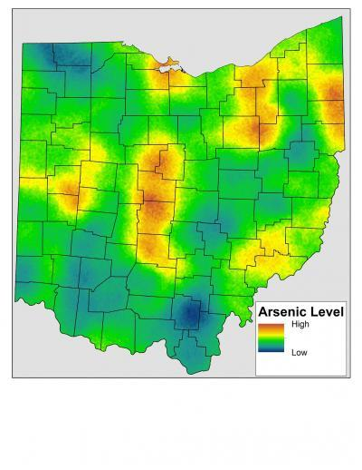 Significant baseline levels of arsenic found in Ohio soils are due to natural processes