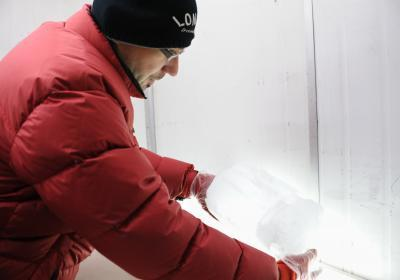 Greenland ice cores provide vision of the future