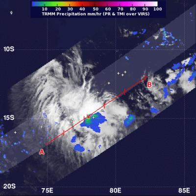 NASA sees 1 area of strength in Tropical Storm Emang