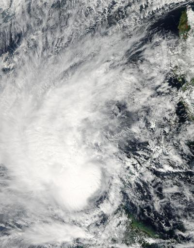 NASA catches Tropical Storm Sonamu in South China Sea