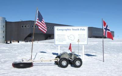 In Greenland and Antarctic tests, Yeti helps conquer some 'abominable' polar hazards
