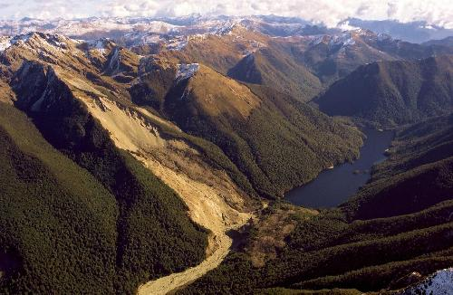 Past earthquakes play a role in future landslides, research suggests
