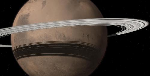 Mars to lose its largest moon, Phobos, but gain a ring