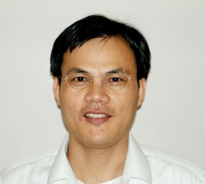 This is a photo of Haoxing Xu, assistant professor in the U-M ...