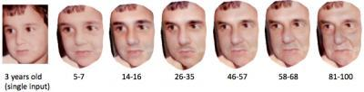 See what a child will look like using automated age-progression software