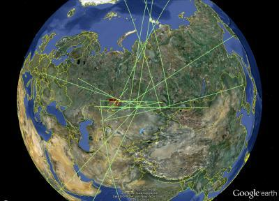 Russian fireball largest ever detected by CTBTO's infrasound sensors