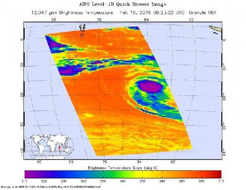 Cyclone Winston due to hit Fiji tonight