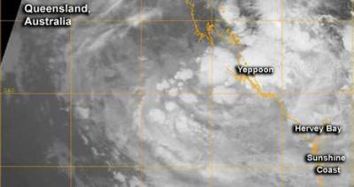 NASA sees troublesome remnants of Cyclone Oswald still causing problems