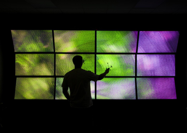 The VuePod: 3-D immersive engineering visualization environment