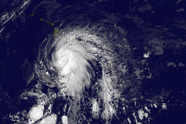 Satellites sees a question mark in Tropical Storm Ana