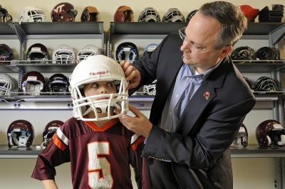 Virginia Tech, Wake Forest University announce youth football publication, new head impact study