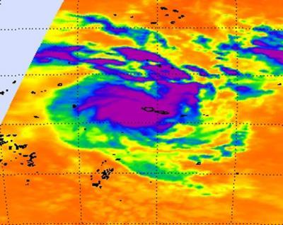 NASA sees newborn Tropical Storm Evan causing trouble for American Samoa