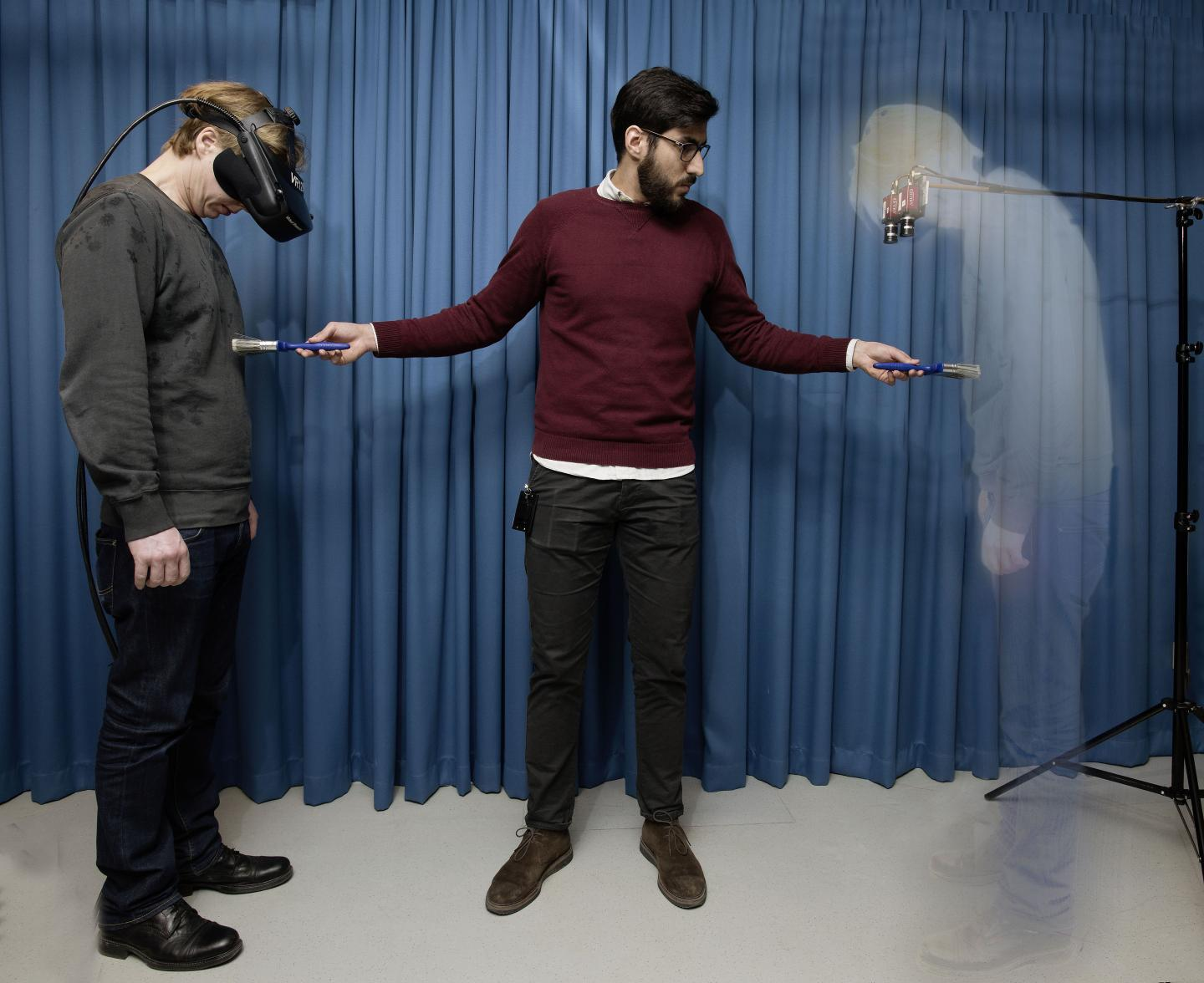 Creating the sensation of invisibility