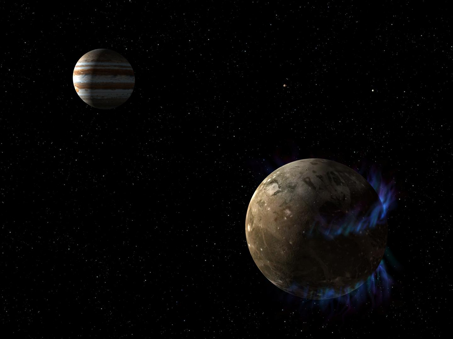 There might be an underground ocean on Jupiter's largest moon