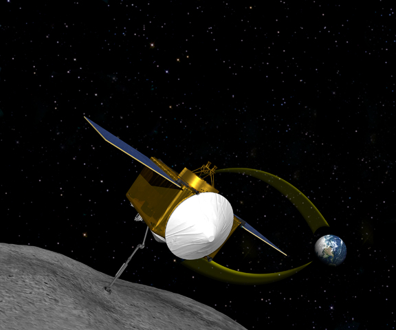 Asteroid 1999 RQ36 mission could tell us how life began