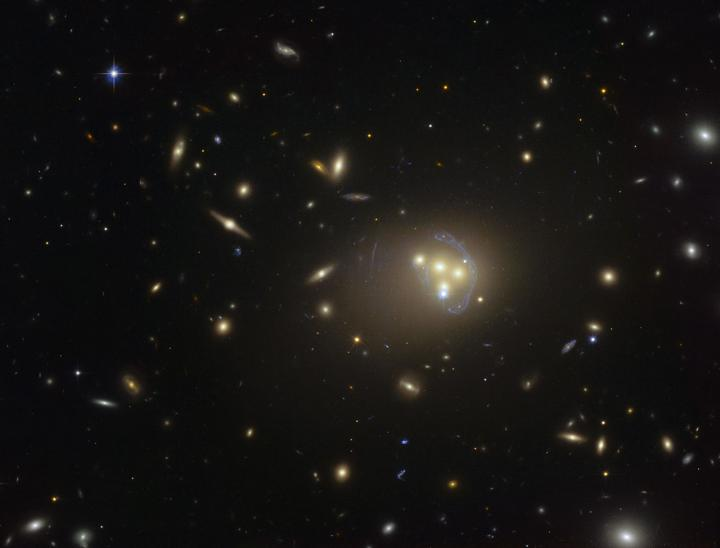 Abell 3827 may show signs of self-interacting dark matter