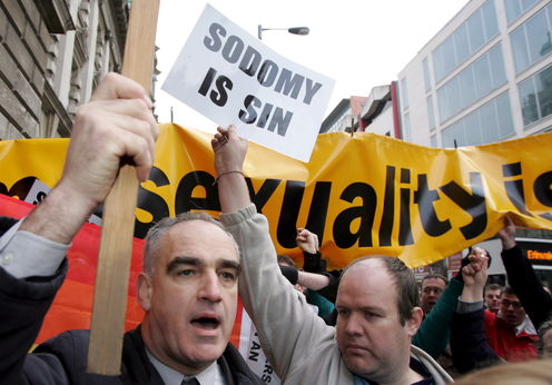 In Northern Ireland, sectarianism has become sextarianism