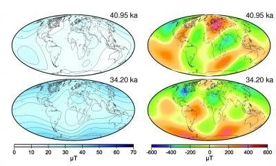 Earth's magnetic field is not about to reverse, new study finds